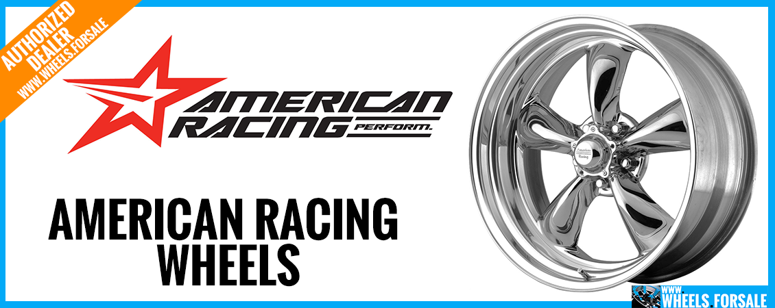 american racing wheels for sale
