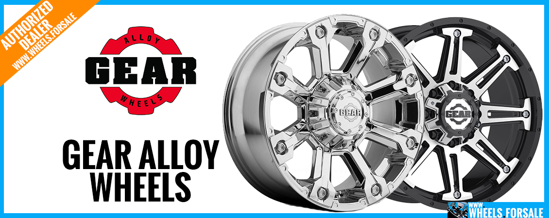 Gear Alloy Wheels for Sale